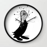 Magic Penguin Wall Clock