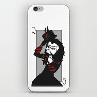 Courting The Crimson Que… iPhone & iPod Skin