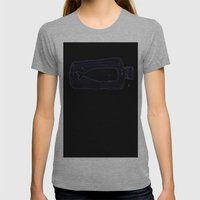 Whale Womens Fitted Tee Athletic Grey SMALL