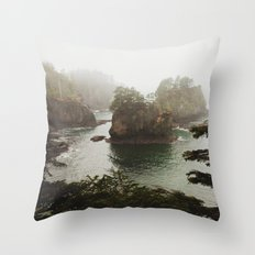 Cape Flattery Throw Pillow