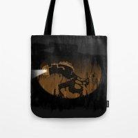 oil monster Tote Bag