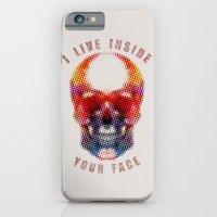 I Live Inside Your Face iPhone 6 Slim Case