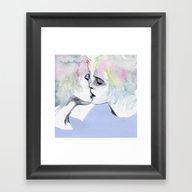 Lonely Boy, Lonely Girl Framed Art Print