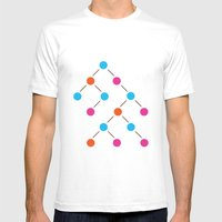 Binary Search Tree   Com… Mens Fitted Tee White SMALL