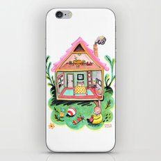 Rebecca Rabbit, Her House, and Her Belongings iPhone & iPod Skin