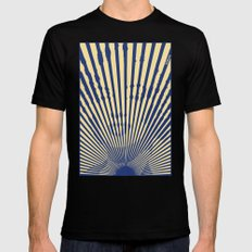 Marylin Sunset Black SMALL Mens Fitted Tee