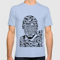 Oscar Grant - Black Lives Matter - Series - Black Voices Mens Fitted Tee Athletic Blue SMALL