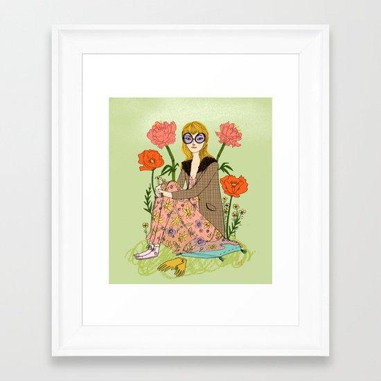 Spring Fashion Framed Art Print