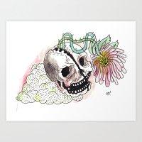 HEADGROWTH Art Print