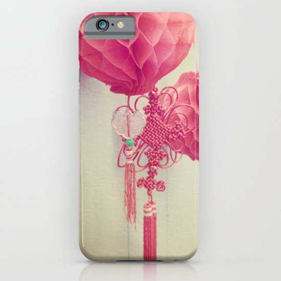 Chinese Lanterns II iPhone & iPod Case