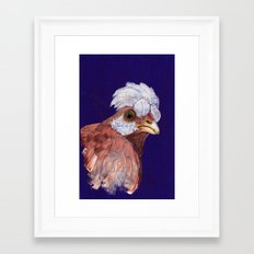 Feathered Friend Framed Art Print