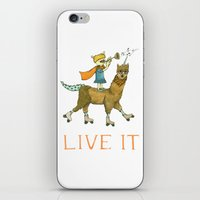 Live It iPhone & iPod Skin
