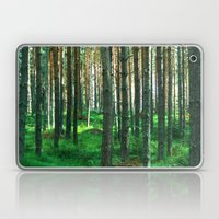 Green Forest Laptop & iPad Skin