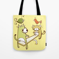 Saturdays and Sundays Tote Bag