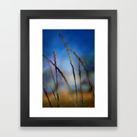 Something good will come your way Framed Art Print