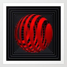 dimension -1- Art Print