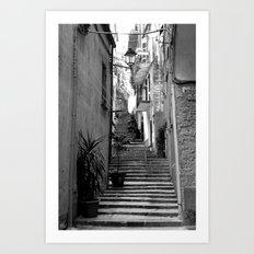 Step Right Up Art Print
