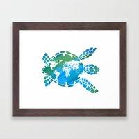 Mother Earth II Framed Art Print