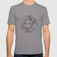 Dog Eat Dog Mens Fitted Tee Athletic Grey SMALL