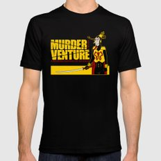 Murder Venture Black SMALL Mens Fitted Tee