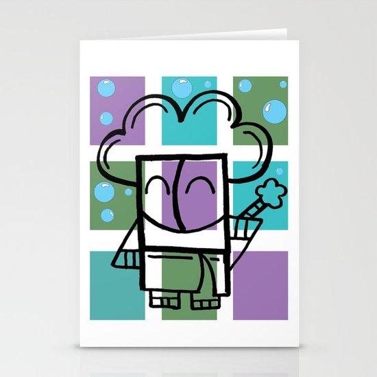 Bath Time Stationery Card