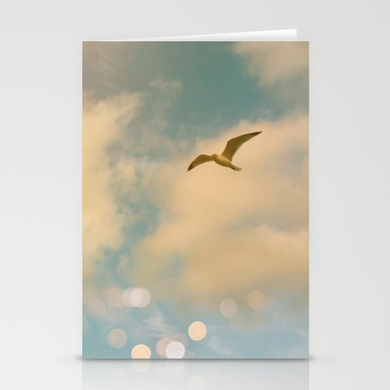 The Lost Gull Stationery Card