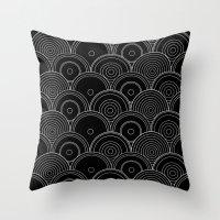 Black & white Idea Throw Pillow