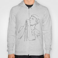 Ian Curtis WordsPortrait Hoody