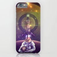 iPhone & iPod Case featuring Rocketman by INTJ Designer