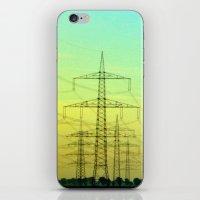 electric highway. iPhone & iPod Skin