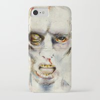 zombie iPhone & iPod Cases featuring Zombie by Michael Scott Murphy