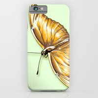iPhone & iPod Case featuring Papillon jaune by Angy'art
