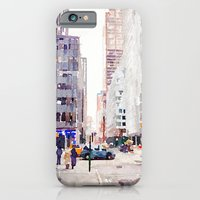 nyc iPhone & iPod Cases featuring NYC by Christine Workman