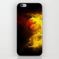 Karma Flames iPhone & iPod Skin