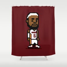8-Bit: Lebron James Shower Curtain