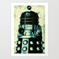 DOCTOR WHO SERIES / DALE… Art Print