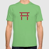 Torii no power Mens Fitted Tee Grass SMALL