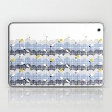 retro flower field 2 Laptop & iPad Skin