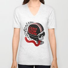 Can't Slow Down Unisex V-Neck