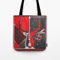 Death to the Adder Lying in Wait Tote Bag