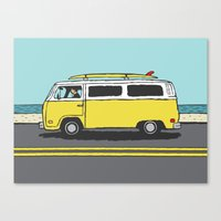 Surf Series | The Search Canvas Print