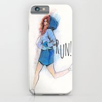 iPhone & iPod Case featuring run by leeem