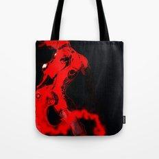 Machine Red Tote Bag