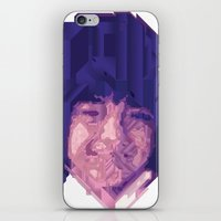 baby face iPhone & iPod Skin