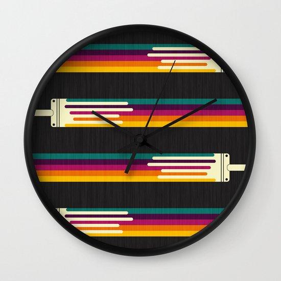 Color Me Happy Wall Clock
