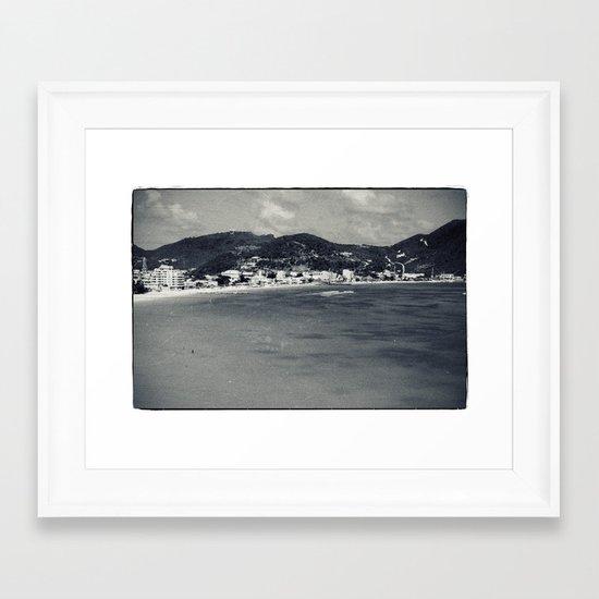 Old-New St. Maarten Framed Art Print