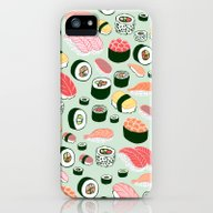 iPhone & iPod Case featuring Sushi Love by Kristin Nohe