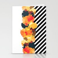 The Fall Patterns #3  Stationery Cards