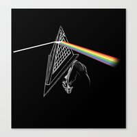Dark Side of the Hill Canvas Print