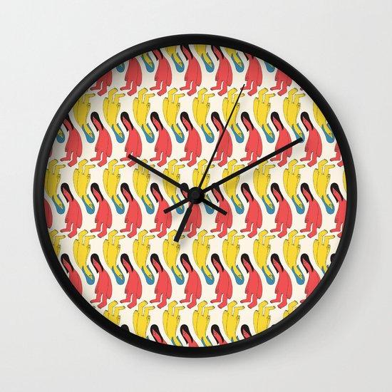 You Look Familiar Wall Clock